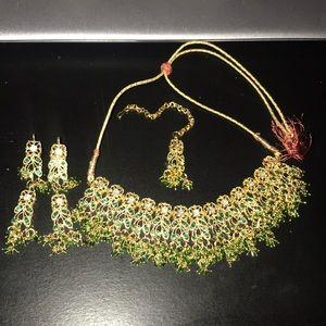 Indian/ Pakistani / Persian jewelry set